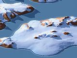 3D-Karte von Franz-Josef-Land